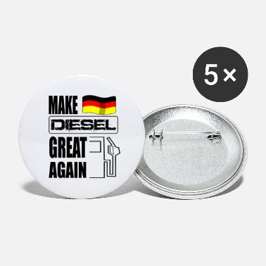 Driving Ban Make Diesel Great Again diesel driver driving bans - Large Buttons