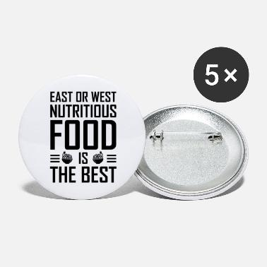 Sustainable Sustainability Healthy - Large Buttons