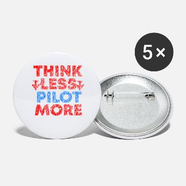 Pilot Pilot saying Pilot Pilot - Large Buttons