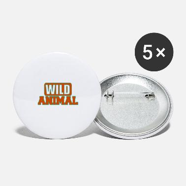 Wild Animal Parks Wild animal - Wild animals - Large Buttons