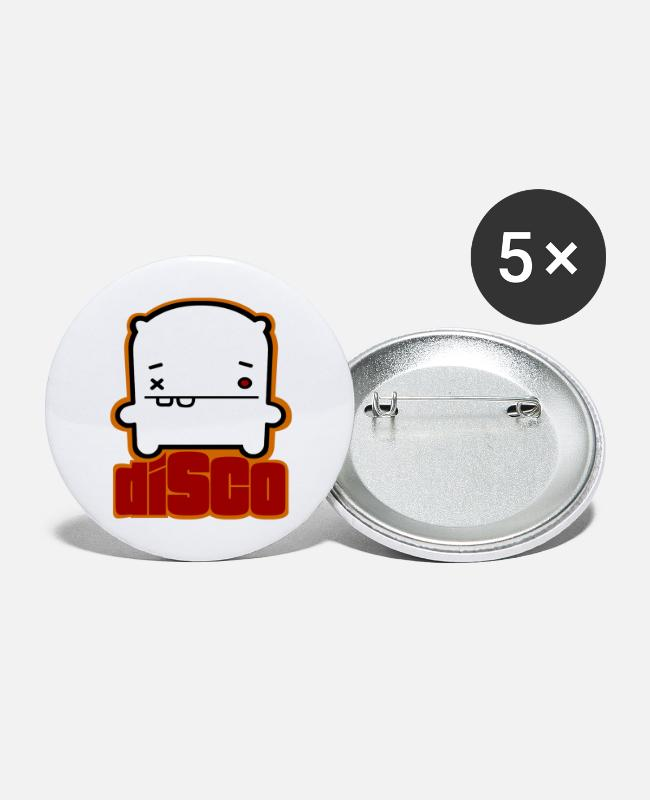 Alex Buttons - Disco Alex - Buttons groot wit