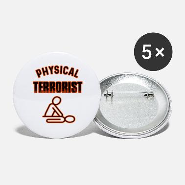 Physiotherapist Physiotherapist gift - Large Buttons
