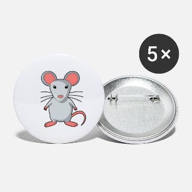 Rodent Mouse rodent rat rodents - Large Buttons