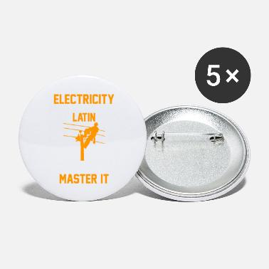 Electricity Electric Electric Gift - Large Buttons