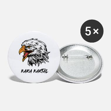 Kara Kara Kartal, Black Eagle - Large Buttons