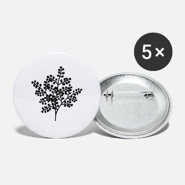 Blomst Blomster af blomster blomster blomster - Store buttons
