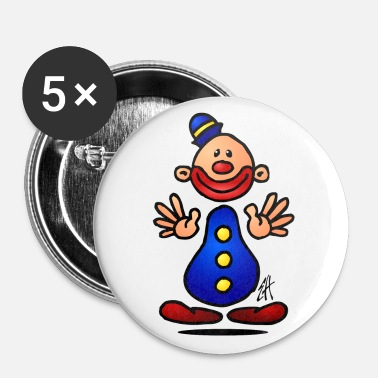 Clown Clown - Buttons large 56 mm