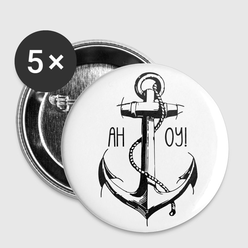 Ahoy Seemann! - Buttons groß 56 mm