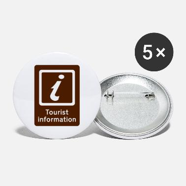 Tourist Toerisme,Tourist Information,Sight Seeing - Buttons groot