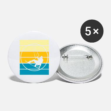 T-shirt de kitesurf de kitesurf - Grands badges