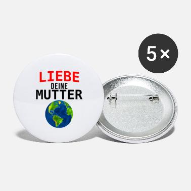 Mutter Erde Mutter Erde - Buttons groß