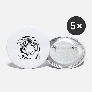 Tiger Tiger, White Tiger - Large Buttons