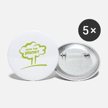 Save save the planet - save the planet - Large Buttons