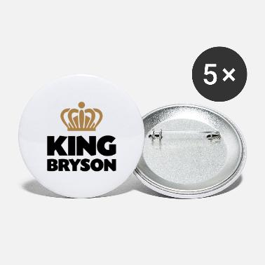 Bryson King bryson name thing crown - Large Buttons