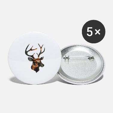 Funges Deer and Mushroom - Large Buttons