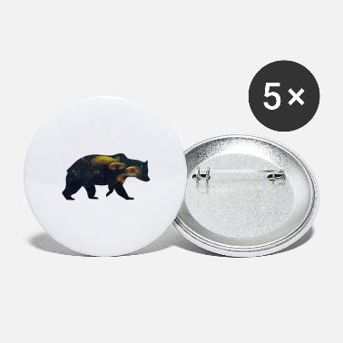 Funges Bear and Mushroom - Large Buttons