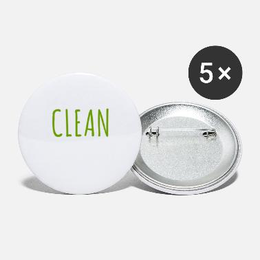 Clean-what-it-is clean - Large Buttons