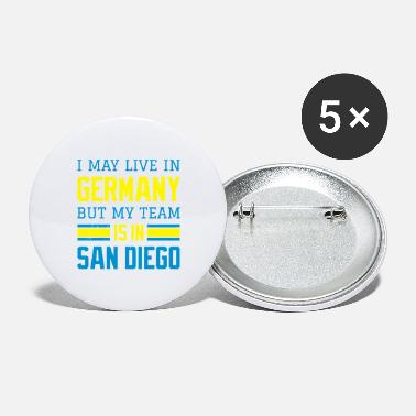 San Diego Chargers San Diego - Buttons groß