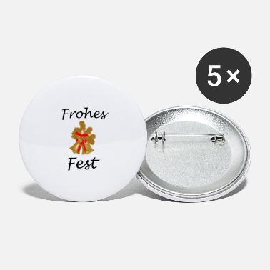 Frohes Fest Frohes Fest - Buttons groß