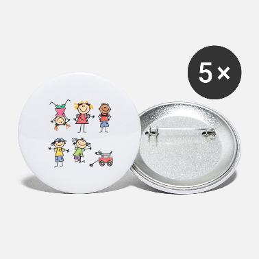 Kids Kids - Large Buttons