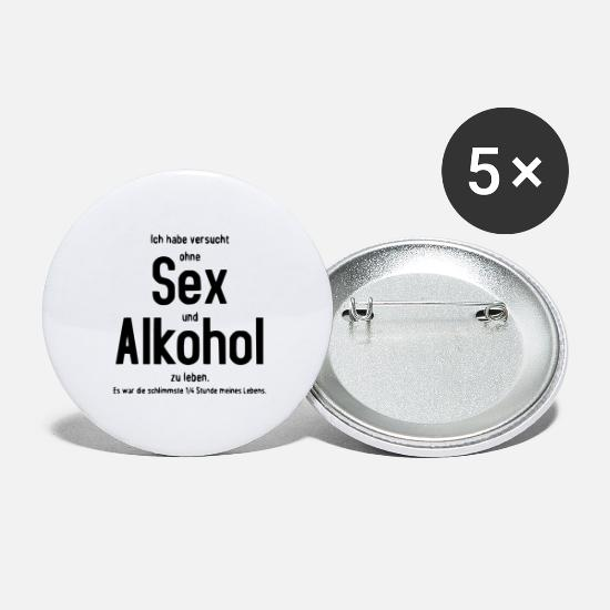 Alcohol Buttons - alcohol - Large Buttons white