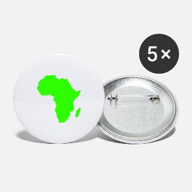 Africa Africa, continent, Europe, Asia, America, South - Large Buttons