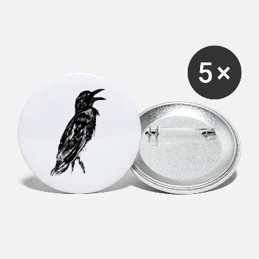 Crow Metal Crow - Buttons groß