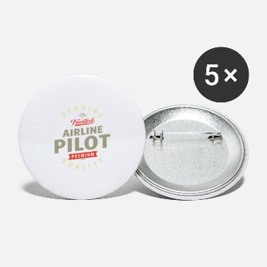 Airline Airline Pilot - Large Buttons