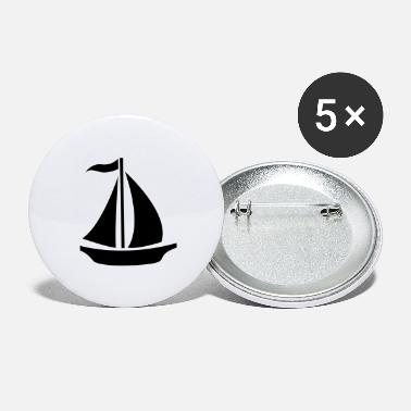 Sail Boat Sailing Boat - Large Buttons