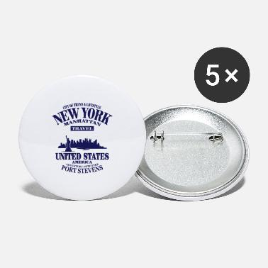 United States New York Skyline - United States - Buttons groot