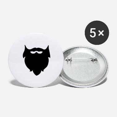 Beard Beard - Beards - Large Buttons