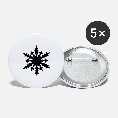 Snow flake - Large Buttons