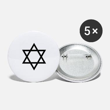 Star Of David star of david / star of david - Large Buttons