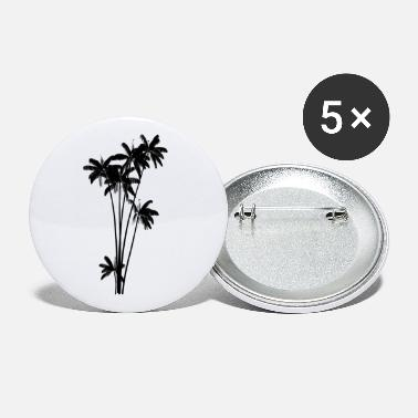 Palm Trees Palm tree palm - Large Buttons