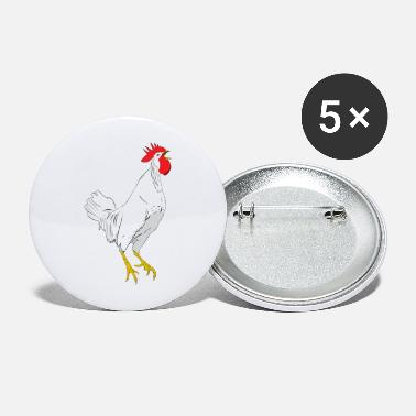 Grand grand coq - Large Buttons