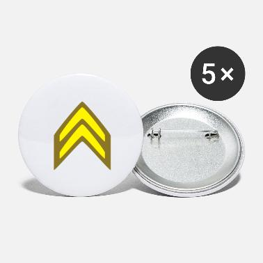 Corporation Insignia Corporal - Large Buttons