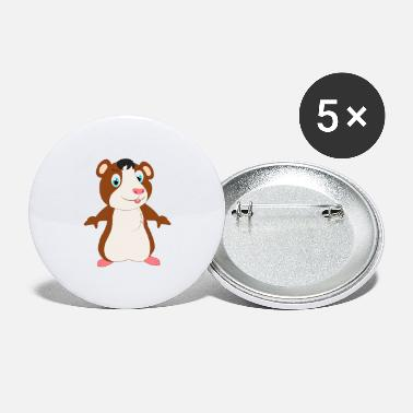 Hamster Hamster hamster hamster hamster hamster - Large Buttons