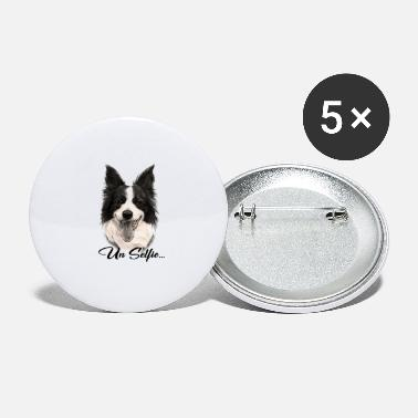 Border Collie dog - Large Buttons