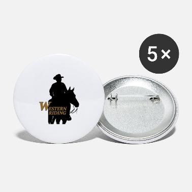Cowboy WESTERN RIDING - Large Buttons