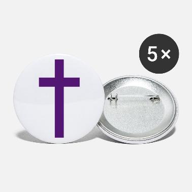 Cross Christianity Protestants Catholic Jesus - Large Buttons