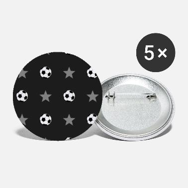 Football star pattern gift - Large Buttons