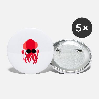 Deep Sea Deep-sea squid - Large Buttons