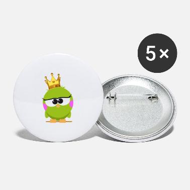 Prinsesse Birdie - Store buttons