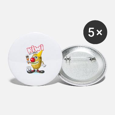 Kiwi the Clown - Large Buttons