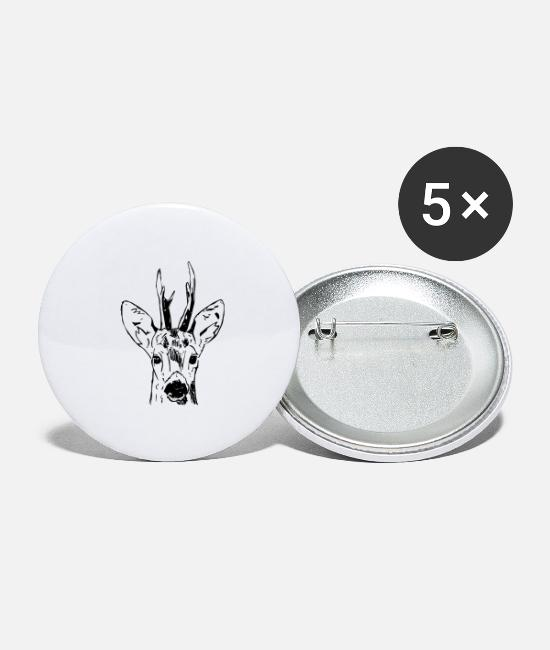 Stag Buttons - Ree - Large Buttons white