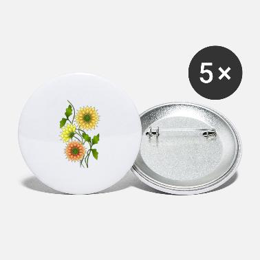 Flora blomster - Store buttons