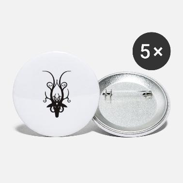 Stag Head Stag Head - Large Buttons