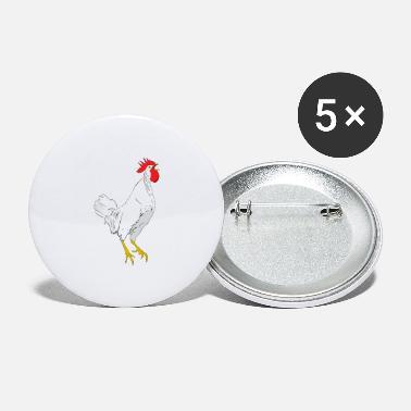 Coq grand coq - Large Buttons