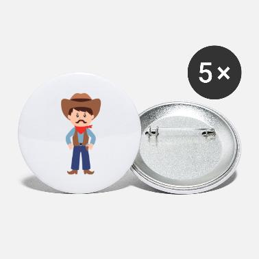 Cowboy cowboy - Buttons groot