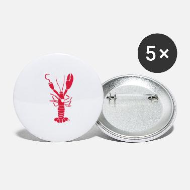 Ørering Lobster Pirate kreft - Store buttons